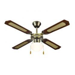 Ανεμιστήρας Οροφής Φωτιστικό 42'' 55 W Muhler MCF-4040