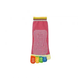 Αντιολισθητικές Κάλτσες για Yoga Χρώματος Ροζ SPM R154390