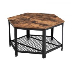 Μεταλλικό Τραπέζι Σαλονιού 75 x 75 x 45 cm VASAGLE LCT16X