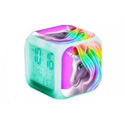 Ψηφιακό Ρολόι - Ξυπνητήρι με Οθόνη LCD Μονόκερος SPM R176097