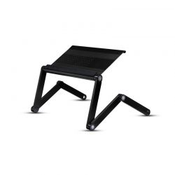 Πτυσσόμενο Τραπεζάκι για Laptop Χρώματος Μαύρο SPM R162317