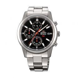 Ανδρικό Ρολόι με Μεταλλικό Μπρασελέ Orient FKU00002B0