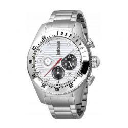 Ανδρικό Ρολόι από Ανοξείδωτο Ατσάλι με Μεταλλικό Μπρασελέ Just Cavalli JC1G040M0055