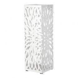 Μεταλλική Ομπρελοθήκη 15.5 x 15.5 x 49 cm Χρώματος Λευκό Songmics LUC48W