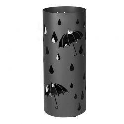 Μεταλλική Ομπρελοθήκη 19.5 x 49 cm Χρώματος Μαύρο Songmics LUC23B