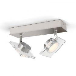 Μεταλλικό LED Φωτιστικό Σποτ Οροφής 2 x 4.5 W GOLYGON Philips 50482/17/P0