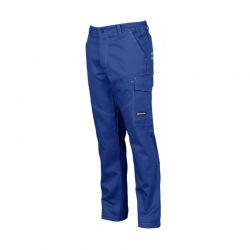Βαμβακερό Παντελόνι Εργασίας Χρώματος Μπλε WORKER PAYPER 000928-0331
