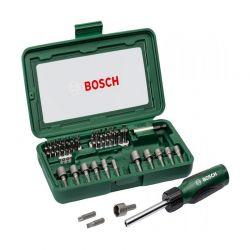 Σετ Κατσαβίδια σε Θήκη 46 τμχ Bosch 2607017360