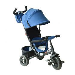 Τρίκυκλο Παιδικό Ποδήλατο - Καρότσι Χρώματος Μπλε HOMCOM 370-027BU