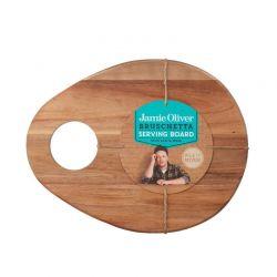 Ξύλινος Δίσκος Σερβιρίσματος Bruschetta 33 x 26 cm Jamie Oliver 554964