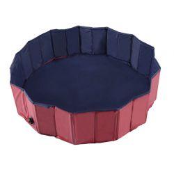 Αναδιπλούμενη Πισίνα για Κατοικίδια 160 x 30 cm PawHut D01-005
