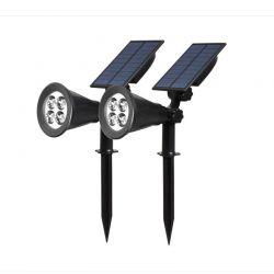 Σετ Ηλιακά LED Φωτιστικά 2 τμχ Hoppline HOP1001041