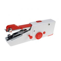 Mini Φορητή Ραπτομηχανή Χειρός με 2 Ανταλλακτικές Βελόνες Χρώματος Κόκκινο Cenocco CC-9073