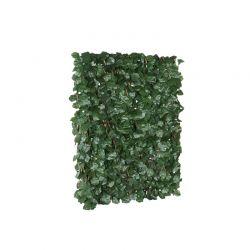 Πτυσσόμενη Πέργκολα με 768 Τεχνητά Φύλλα Δάφνης 2 x 1 m Χρώματος Σκούρο Πράσινο Inkazen 40022182