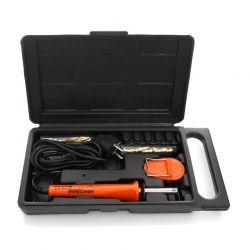 Σετ Ηλεκτρικός Πυρογράφος για Σκάλισμα σε Δέρμα και Ξύλο 75 W με Αξεσουάρ 23 τμχ Kraft&Dele KD-10188