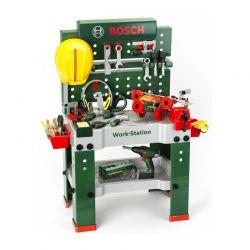 Παιδικό Παιχνίδι Μίμησης Πάγκος Εργασίας 150 τμχ Bosch Klein 8425