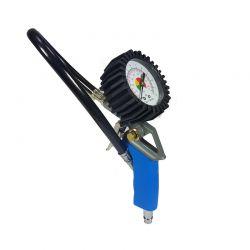 Πιστόλι Αέρος Ελαστικών με Μανόμετρο 0-12 Bar MAR-POL M80698