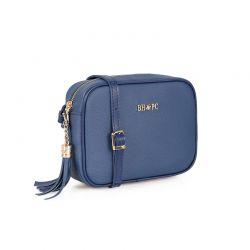 Γυναικεία Τσάντα Χιαστί Χρώματος Navy Beverly Hills Polo Club 1103 668BHP0121