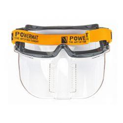 Προστατευτικά Γυαλιά Εργασίας με Αεριζόμενη Μάσκα POWERMAT PM-GO-OG4
