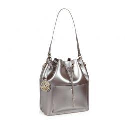 Γυναικεία Τσάντα Ώμου Χρώματος Ασημί Beverly Hills Polo Club 591 v2 657BHP0507