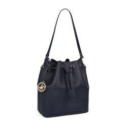 Γυναικεία Τσάντα Ώμου Χρώματος Navy Beverly Hills Polo Club 591 v2 657BHP0501