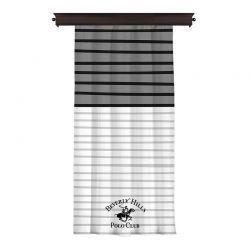 Κουρτίνα με Τρουκς 140 x 260 cm Beverly Hills Polo Club 176BHP8804