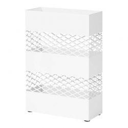 Μεταλλική Ομπρελοθήκη 28 x 12 x 41 cm Χρώματος Λευκό Songmics LUC02WT
