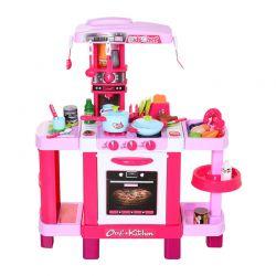 Παιδική Κουζίνα 78 x 29 x 87 cm με Αξεσουάρ HOMCOM 350-047