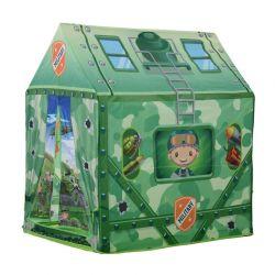 Παιδική Σκηνή 93 x 69 x 103 cm Camouflage Play Χρώματος Πράσινο HOMCOM 345-009