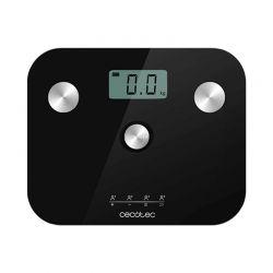 Ψηφιακή Ζυγαριά Μπάνιου - Λιπομετρητής Cecotec Surface Precision EcoPower 10100 Full Healthy Χρώματος Μαύρο CEC-04253