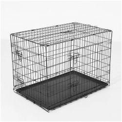 Πτυσσόμενο Μεταλλικό Κλουβί Μεταφοράς για Κατοικίδια 76 x 53 x 57 cm PawHut D00-022