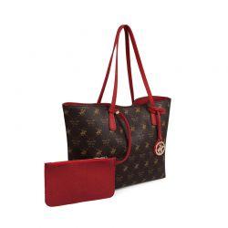 Γυναικεία Τσάντα Χειρός Χρώματος Καφέ Beverly Hills Polo Club 790 657BHP0804