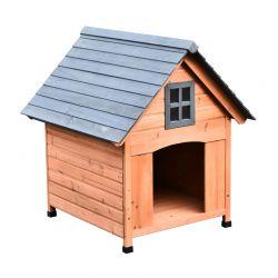 Ξύλινο Σπίτι Σκύλου 81.3 x 91.5 x 98.5 cm PawHut D02-032