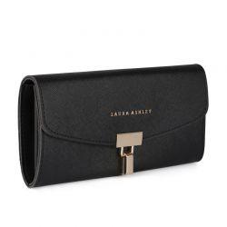 Γυναικείο Πορτοφόλι Χρώματος Μαύρο Laura Ashley Chiswick 654LAS2211