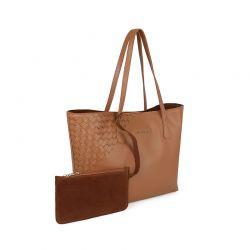 Γυναικεία Τσάντα Χειρός Χρώματος Καφέ Laura Ashley Albion 651LAS1694