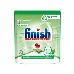 Απορρυπαντικό Πλυντηρίου Πιάτων Finish 0% 70 Ταμπλέτες Fin-Eco