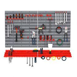 Επιτοίχιο Σύστημα Αποθήκευσης Εργαλείων 54 τμχ DURHAND B40-023