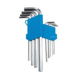 Σετ Κλειδιά Allen Hex 1.5 - 10 mm 9 τμχ TAGRED TA1047