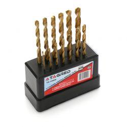 Σετ Τρυπάνια Τιτανίου HSS 1.5 - 6.5 mm 13 τμχ TAGRED TA1028