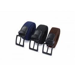 Σετ Ανδρικές Ελαστικές Ζώνες Χρώματος Μαύρο - Καφέ - Μπλε 3 τμχ SPM 8720195380566