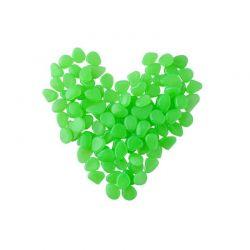 Διακοσμητικές Πέτρες που Λάμπουν στο Σκοτάδι Χρώματος Πράσινο 100 τμχ SPM 8766