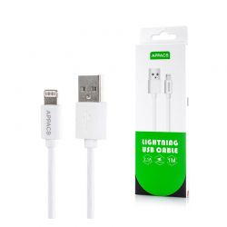 Καλώδιο USB to Lightning 1m APPACS U11-White
