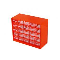 Πλαστικό Κουτί Αποθήκευσης με 25 Συρτάρια Hoppline HOP1001038-2