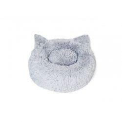 Μαξιλάρι Γάτας 50 cm Χρώματος Γκρι Inkazen 10110155