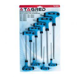 Σετ Εξάγωνα Torx Ταφ 9 τμχ TAGRED TA1043