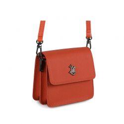 Γυναικεία Τσάντα Ώμου Χρώματος Κεραμιδί Beverly Hills Polo Club 668BHP0188