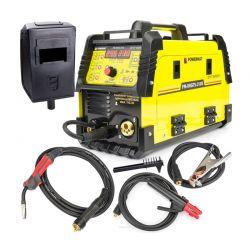 Ημιαυτόματη Ηλεκτροκόλληση Inverter 210A 230V MIG / MAG / MMA / LIFT-TIG SYNERGY IGBT POWERMAT PM-IMGTS-210S