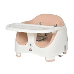 Παιδικό Κάθισμα Φαγητού για Καρέκλα Χρώματος Ροζ HOMCOM 420-011PK