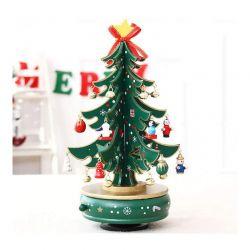 Μουσικό Καρουζέλ Χριστουγεννιάτικο Δέντρο με Κίνηση MWS17365
