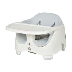 Παιδικό Κάθισμα Φαγητού για Καρέκλα Χρώματος Γκρι HOMCOM 420-011GY